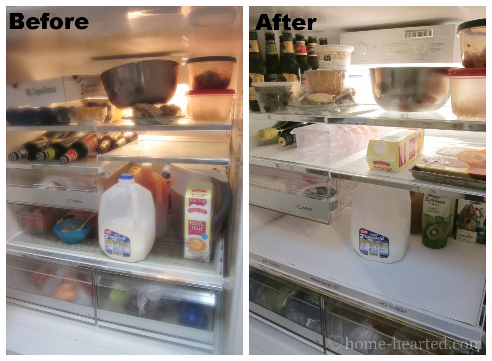 DIY Refrigerator Painting