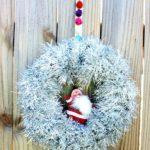 Ideas for Decorating with Tinsel via rainonatinroof.com #tinsel #holidaydecorating