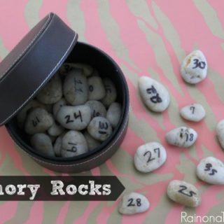 Memory Rocks via RainonaTinRoof.com