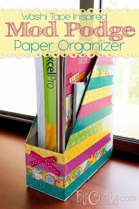 Ideas & Projects for Organizing Your Home via RainonaTinRoof.com