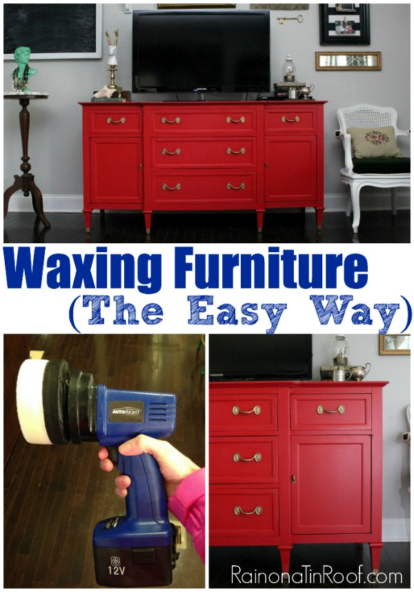 How to Wax Furniture the Easy Way | How to Wax Furniture Tutorial | Waxing Furniture | Waxing Furniture Tips | How to Wax Wood Furniture
