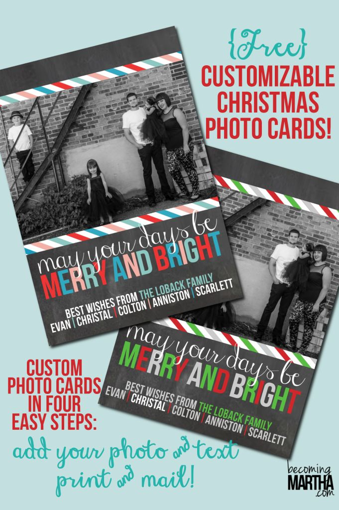 Picmonkey tutorial for Christmas cards