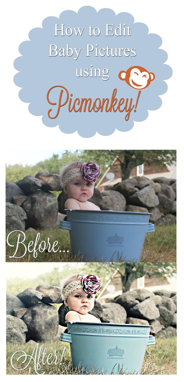 Picmonkey Photo Editing - Babies