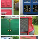 SO many ideas and color combinations!!! Furniture Makeovers via RainonaTinRoof.com