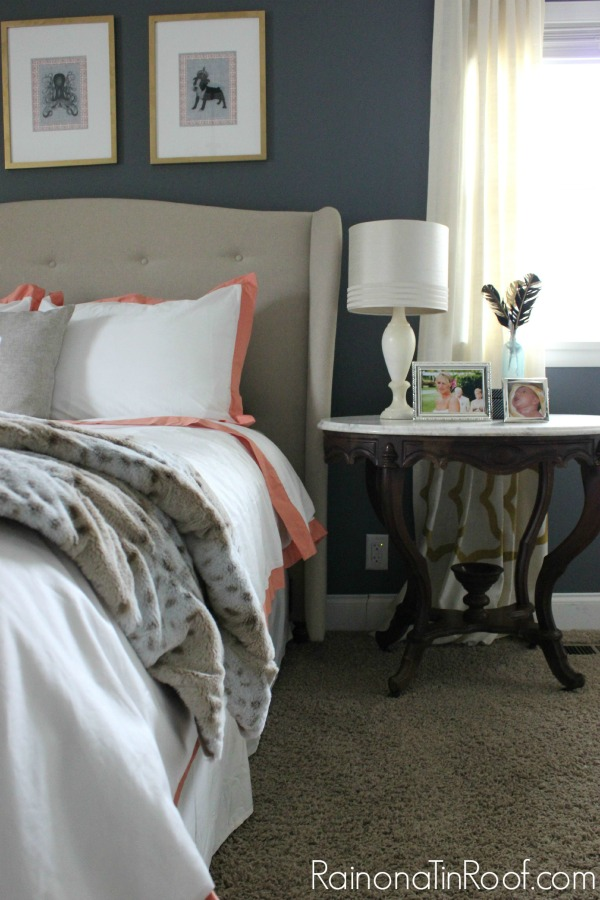 Master Bedroom Ideas {A Mini-Makeover} via RainonaTinRoof.com #masterbedroom #bedroom #makeover #homedecor #interiordesign