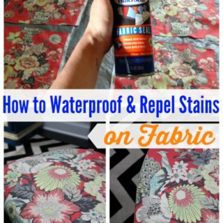 how to make fabric stain resistant