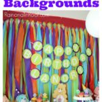 Rainbow Backdrop for Parties