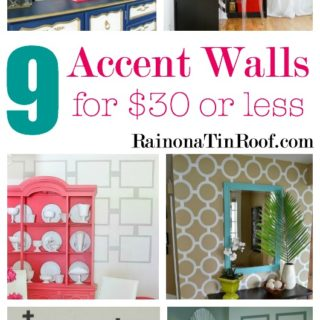 DIY Accent Wall Ideas that Are Cheap