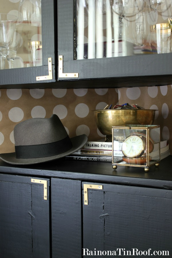 Vintage Modern Rustic Dining Room Tour via RainonaTinRoof.com #homedecor