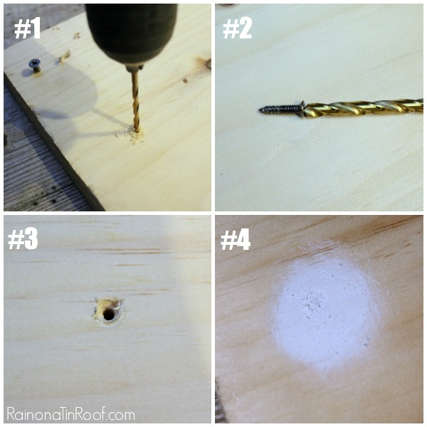 How to Use a Drill Bit with Power Drills - Step by Step - Rain on a Tin Roof