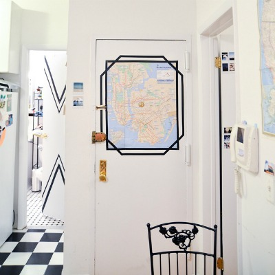 Electrical Tape Crafts: Electrical Tape Frame