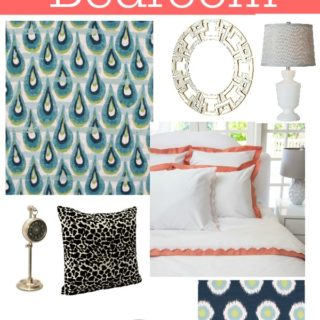 How to Decorate a Bedroom in 5 Easy Steps via RainonaTinRoof.com