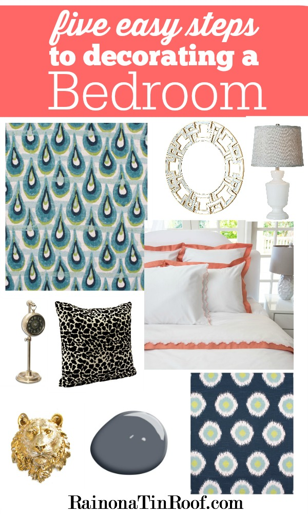 How to Decorate a Bedroom in 5 Easy Steps