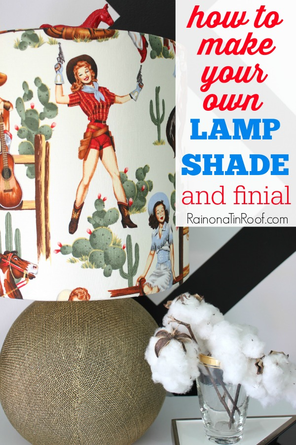Lampshade Ideas - Make your own!
