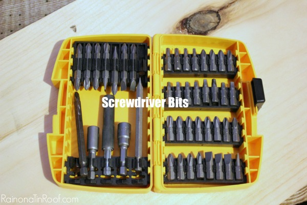 How to Use Screwdriver Bits in a Drill - Rain on a Tin Roof
