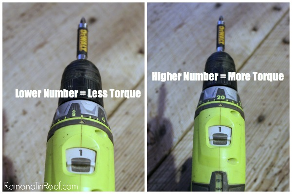 Using Power Drills - Controlling the Torque - Rain on a Tin Roof