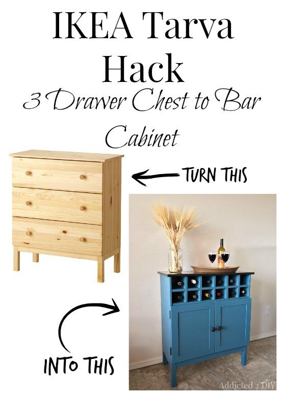 Addicted 2 DIY IKEA Tarva Hack