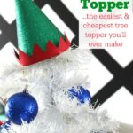 Elf Hat Tree Topper