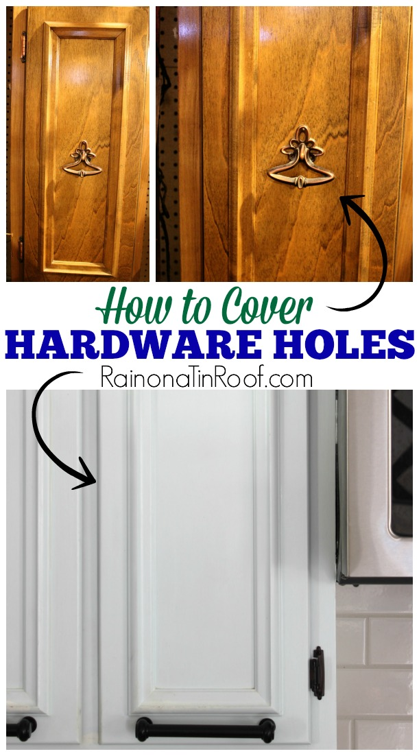 How To Cover Old Hardware Holes