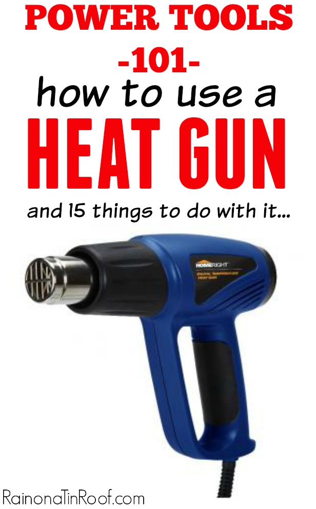 How to Use a Heat Gun | Heat Gun Crafts | Heat Gun Projects | Heat Gun Uses