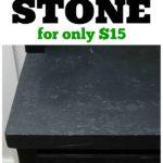 Faux Stone Countertops Tutorial