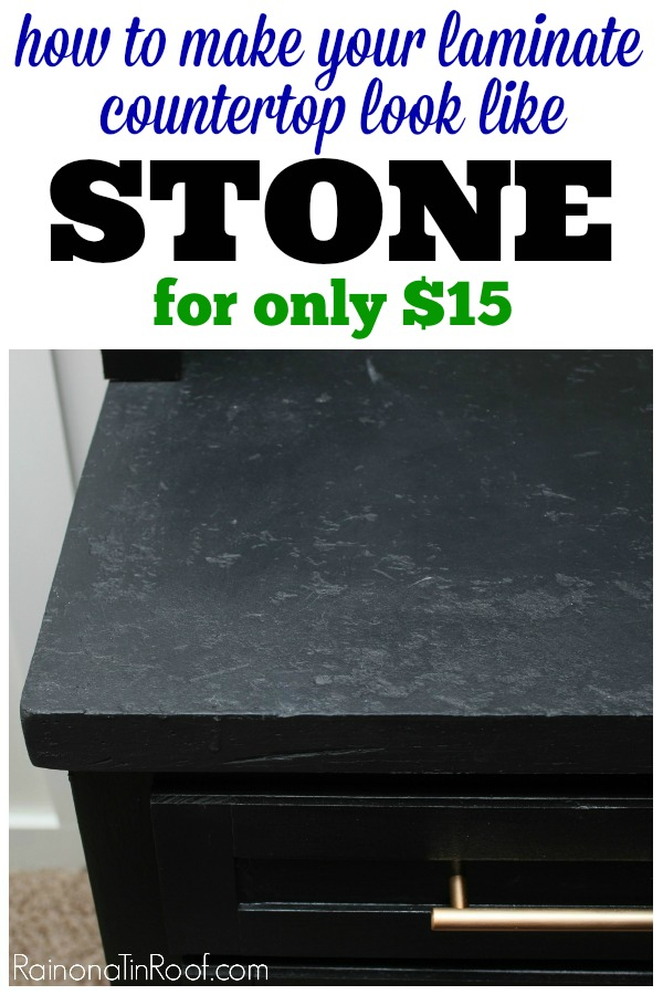 How to Make Faux Stone Countertops