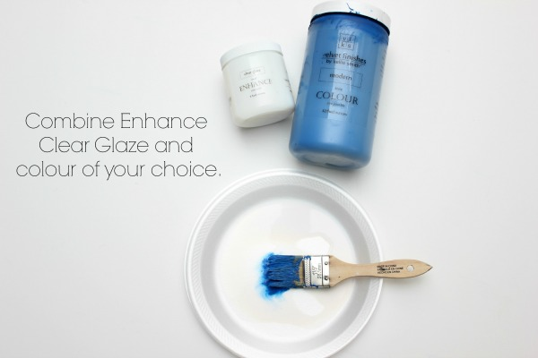 Make furniture glaze in any color!