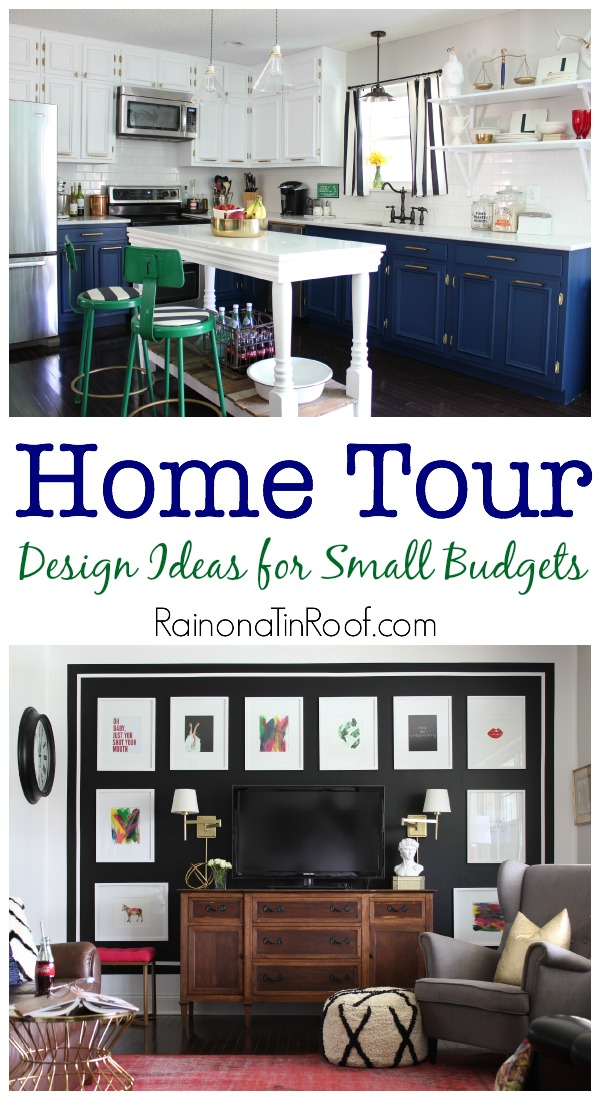 Great and Realistic Design Ideas for Small Budgets: Home Tour