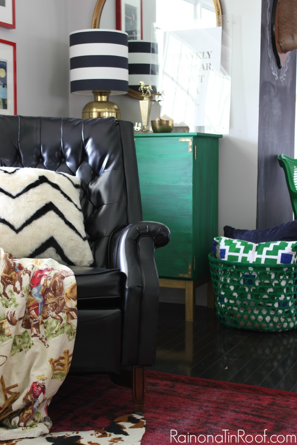 Vintage Modern Living Room: Spring Home Tour