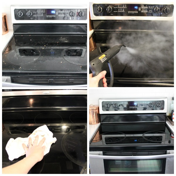 Steam Clean Your Stove!