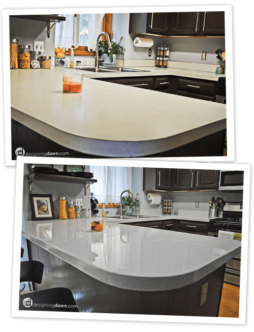 DIY Countertop Makeover