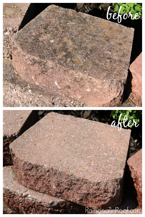 WOW! Have to check this out! How to Clean Concrete Blocks