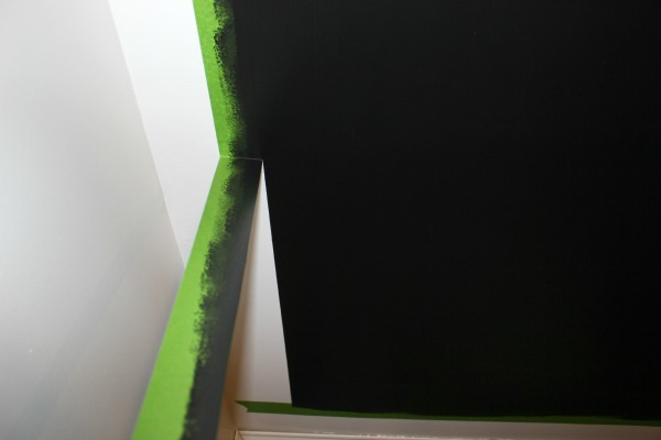 Remove tape immediately after your last coat of paint.