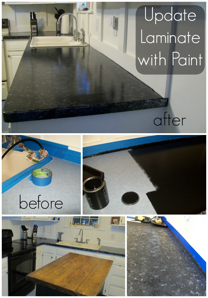 Cheap Countertop Makeover
