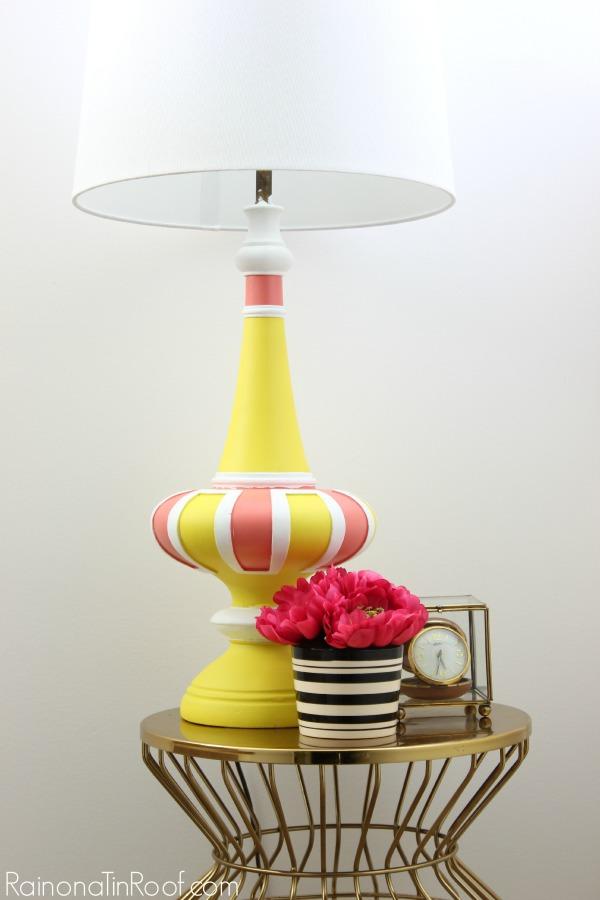 Lamp painting
