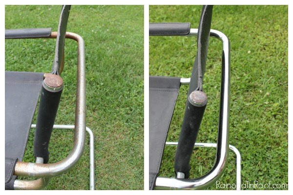 how to remove rust from metal furniture