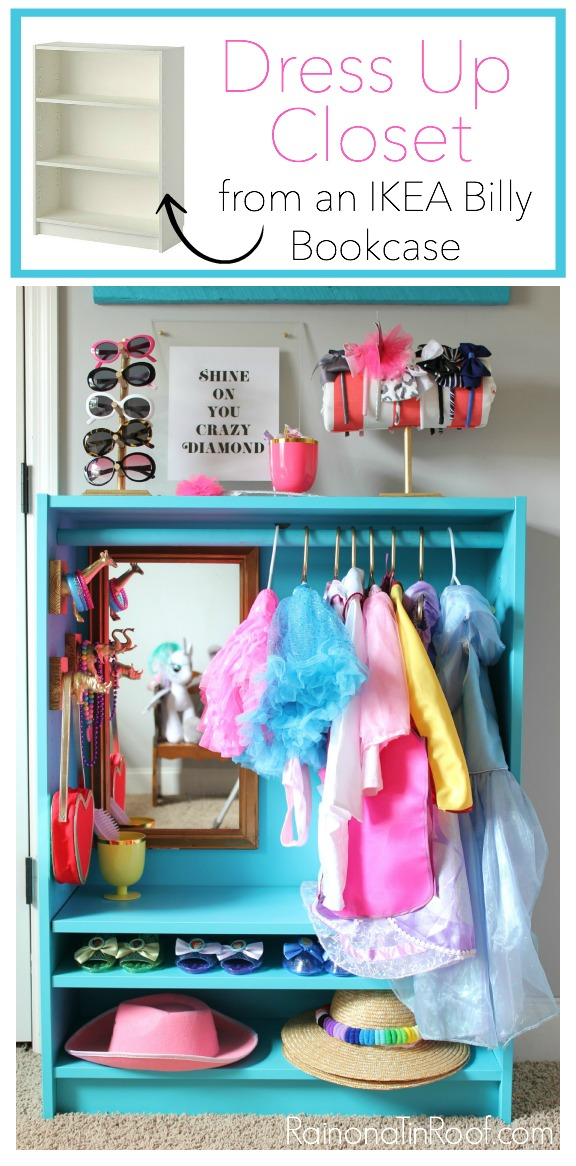 Storage Solutions for Kids - Dress Up Closet - Rain on a Tin Roof