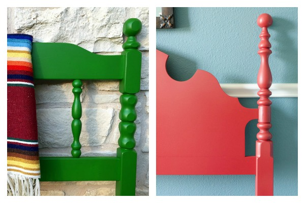 Bold and Beautiful Furniture Makeovers: Headboard Makeovers / Bed Makeovers / Painted Headboard