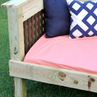 Outdoor Daybed Tutorial