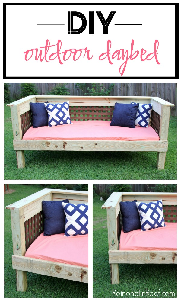 Outdoor Furniture Plans - daybed