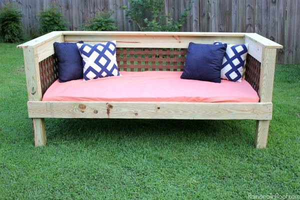 Outdoor Bed and Sofa DIY Project