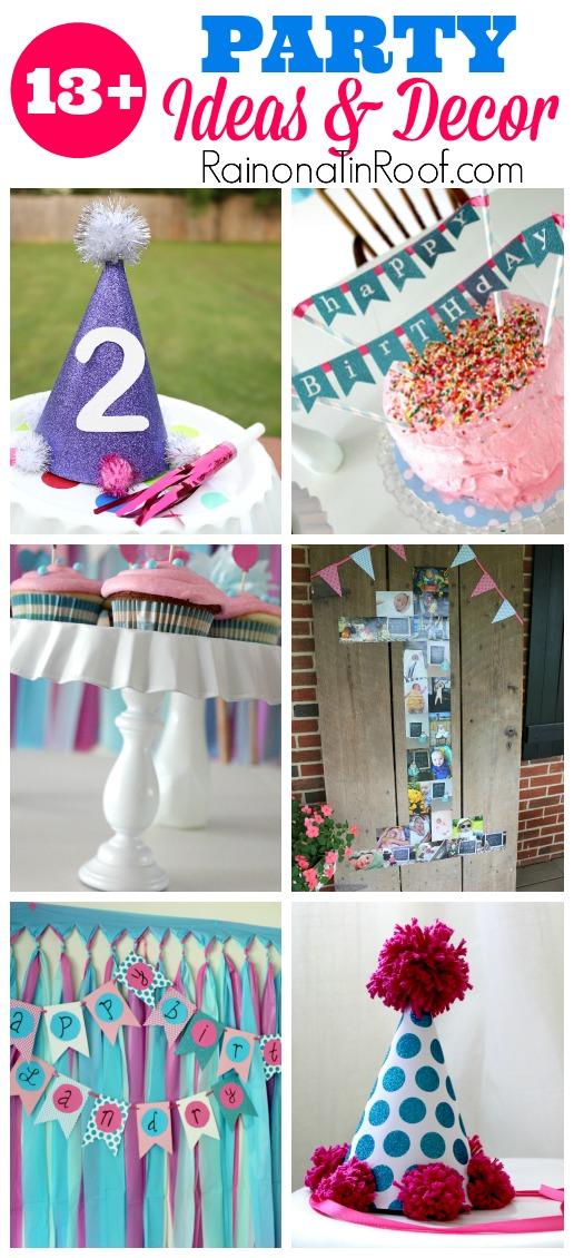 DIY Party Decor Ideas