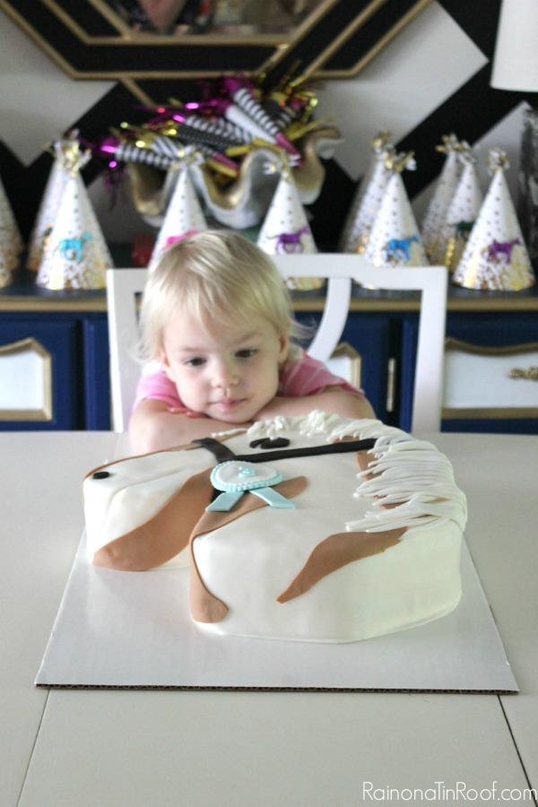 Horse Birthday Cake / Horse Birthday Party