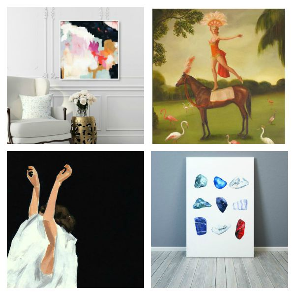 Best Sources for Affordable Wall Art and My Favorite Picks Under $50 - Etsy