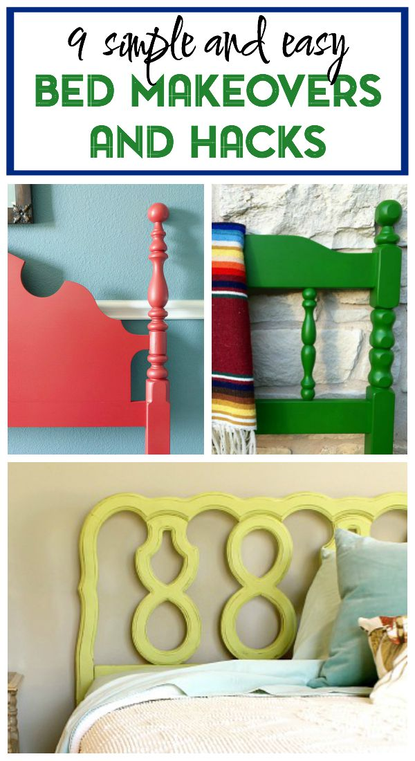 Bed Makeover Ideas | Bed Makeover Paint | How to Paint a Bed Frame | Bed Makeover DIY | Bed Makeover DIY Head Boards