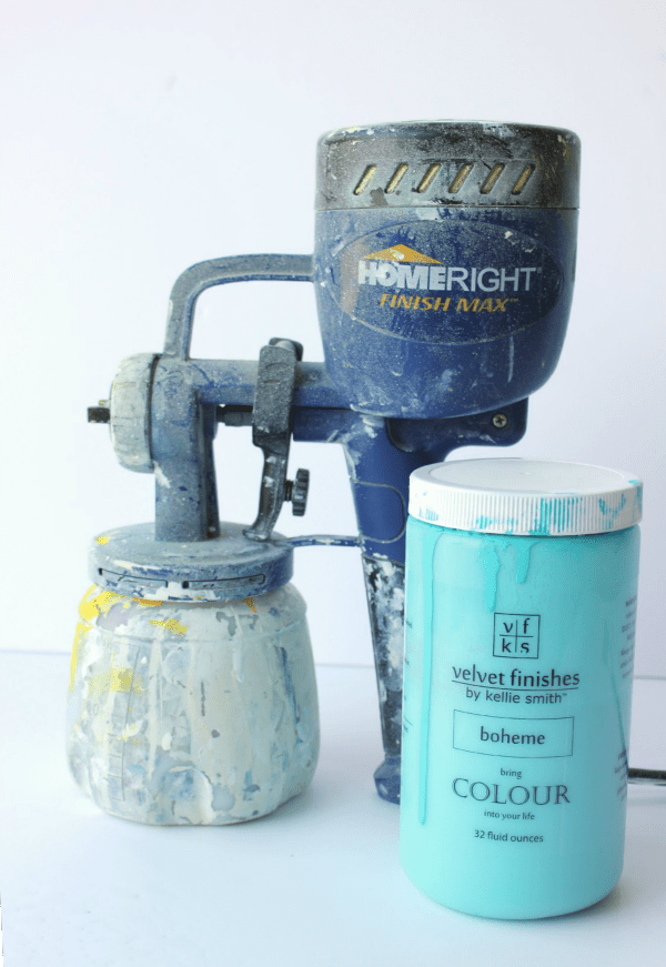 How to Use a Paint Sprayer | Using a Paint Sprayer on Furniture | Paint Sprayer Tips | Paint Sprayer for Furniture Makeovers | Using Velvet Finishes in a Paint Sprayer