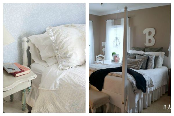 Bed Makeovers: Shades of White