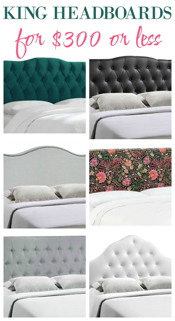 Affordable King Size Headboards | Cheap King Headboards | King Headboard Ideas | Affordable King Size Beds