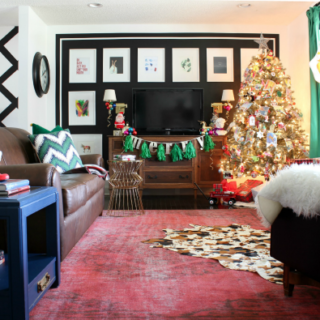 Decorating with Memories...And Vintage Finds: Christmas Home Tour Part 2 / Holiday Decorating / Christmas Decorating / Holiday Home Tour