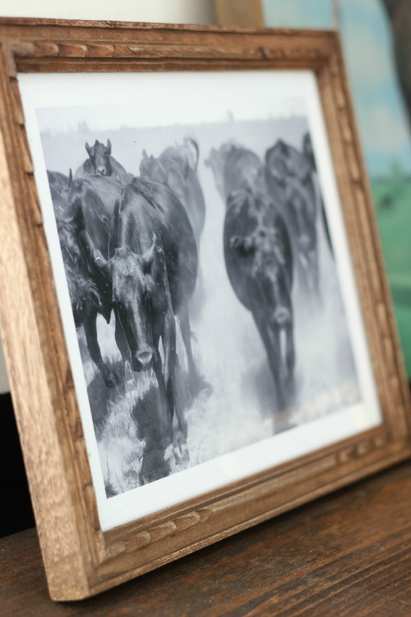 Cattle Drive Art Print from Minted